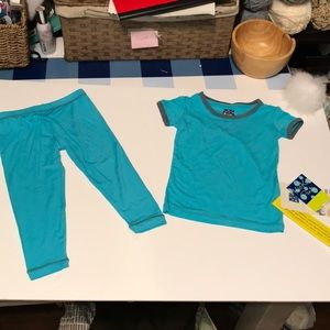 Kickee Pants pajama -2pc Set- NWTS-Sz 18-24mon